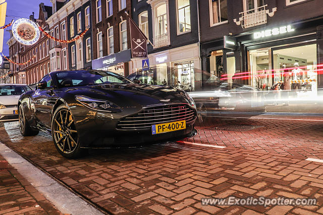 Aston Martin DB11 spotted in Amsterdam, Netherlands