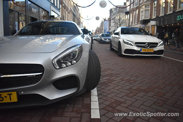 Mercedes AMG GT spotted in Amsterdam, Netherlands