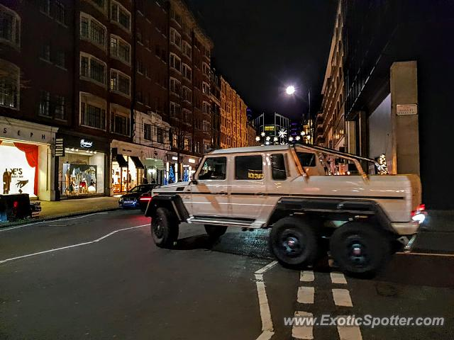 Mercedes 6x6 spotted in London, United Kingdom