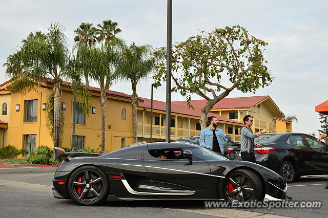 Koenigsegg Agera R spotted in Orange County, California