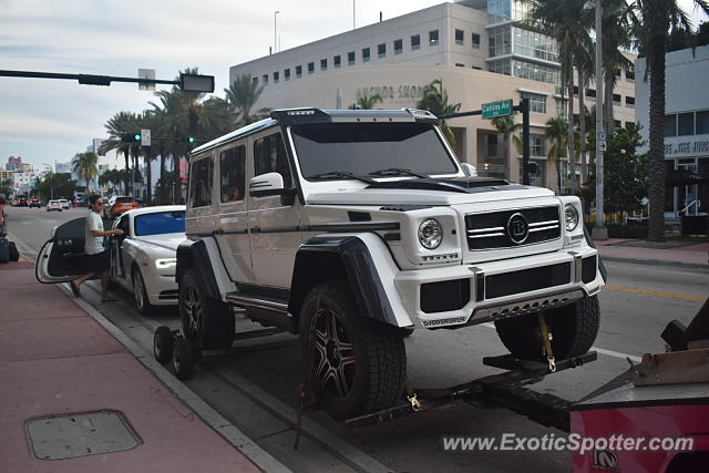 Mercedes 4x4 Squared spotted in Miami, Florida