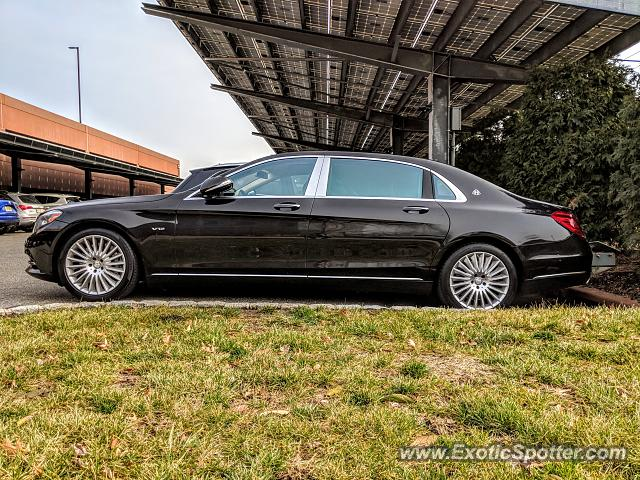 Mercedes Maybach spotted in Bridgewater, New Jersey