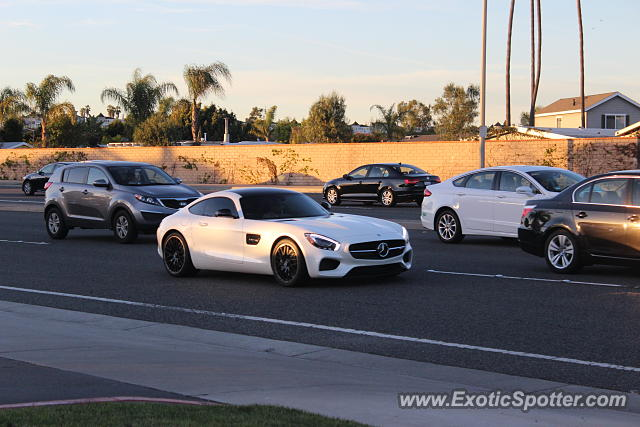 Mercedes AMG GT spotted in Newport Beach, California