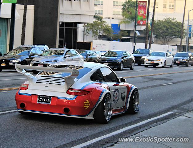 Porsche 911 spotted in Beverly Hills, California