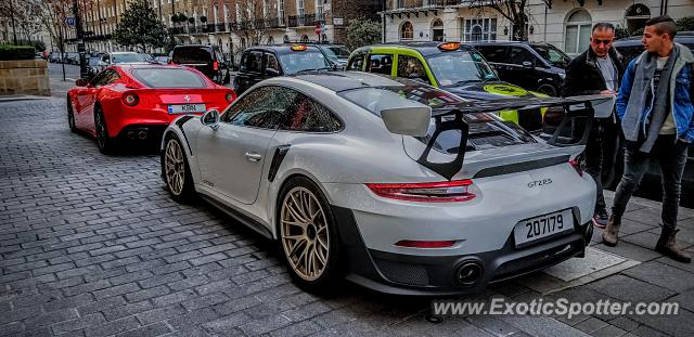 Porsche 911 GT2 spotted in London, United Kingdom
