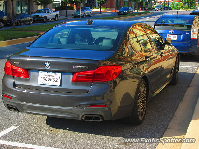 BMW M5 spotted in Maple lawn, Maryland