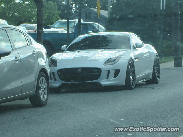 Jaguar F-Type spotted in Fredericksburg, Maryland