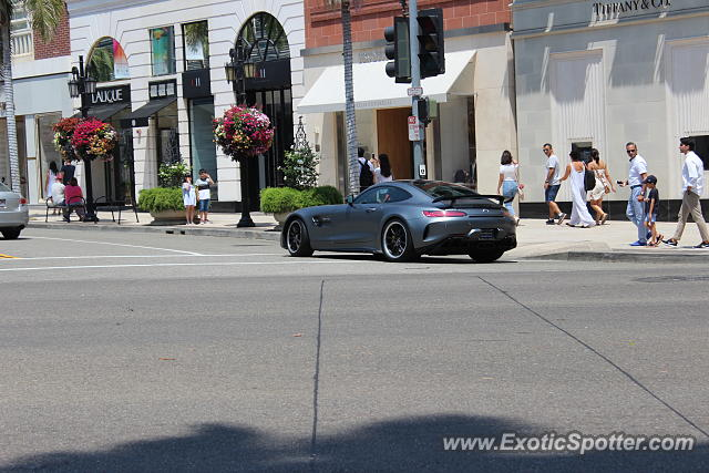 Mercedes AMG GT spotted in Beverly Hills, California