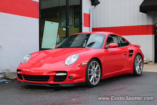 Porsche 911 Turbo spotted in Laurel, Maryland