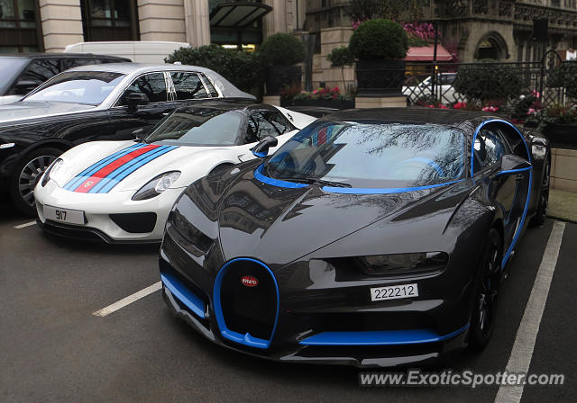 Bugatti Chiron spotted in London, United Kingdom