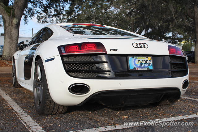 Audi R8 spotted in Tampa, Florida