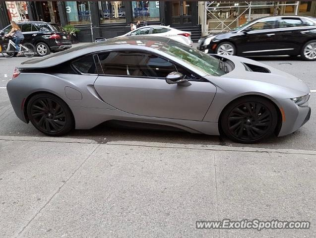 BMW I8 spotted in New York city, New York