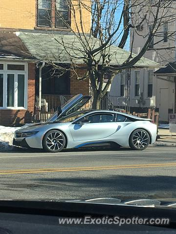 BMW I8 spotted in Wyndmoor, Pennsylvania