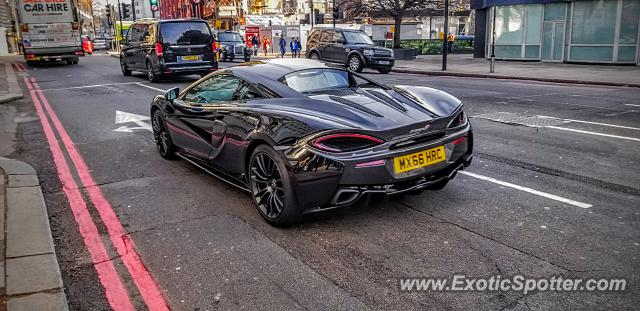Mclaren 570S spotted in London, United Kingdom