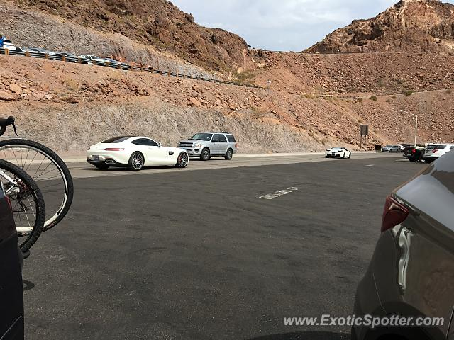 Mercedes AMG GT spotted in Grand canyon, Utah