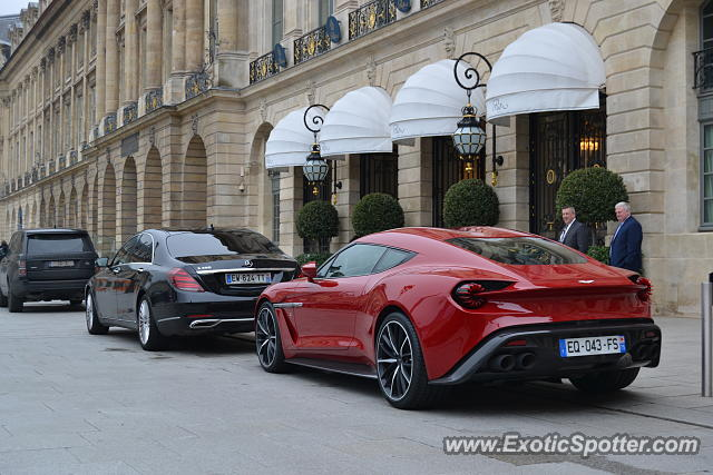 Aston Martin Zagato spotted in Paris, France