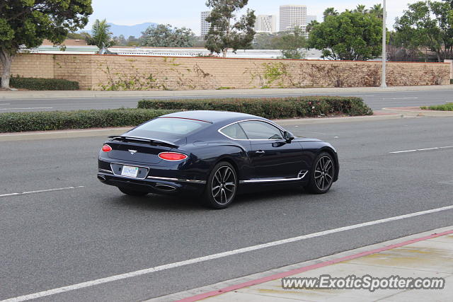 Bentley Continental spotted in Newport Beach, California