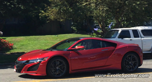 Acura NSX spotted in Portland, Oregon