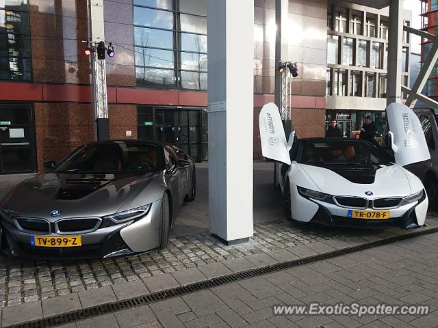 BMW I8 spotted in Rotterdam, Netherlands