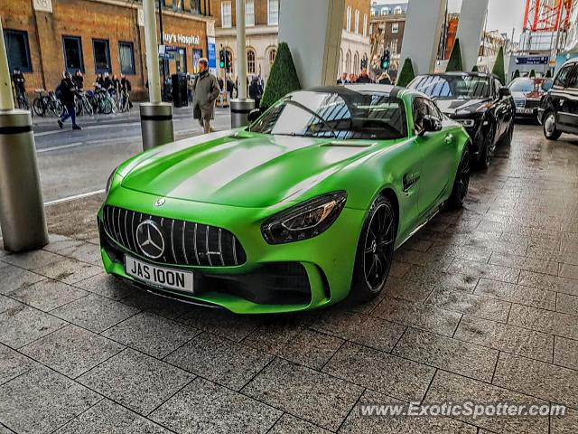 Mercedes AMG GT spotted in London, United Kingdom