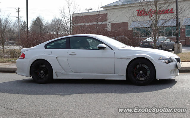 BMW M6 spotted in Laurel, Maryland