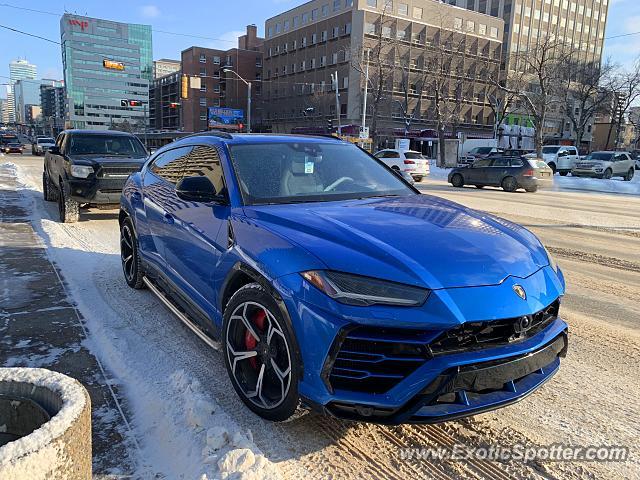 Lamborghini Urus Spotted In Edmonton Canada On 02 08 2019