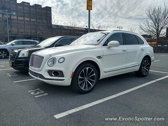 Bentley Bentayga spotted in Bethlehem, Pennsylvania