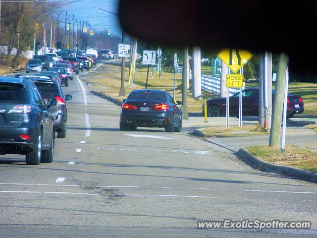 BMW M5 spotted in NEW ALBANY, Ohio