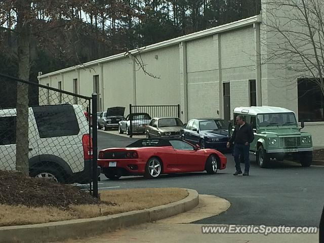 Ferrari 360 Modena spotted in Cumming, Georgia