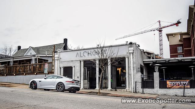 Jaguar F-Type spotted in Raleigh, North Carolina