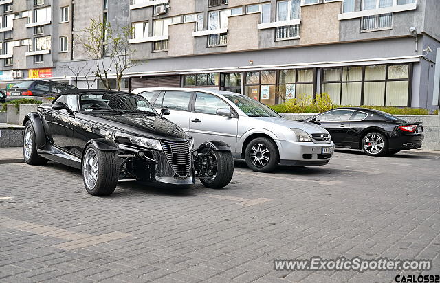 Plymouth Prowler spotted in Warsaw, Poland