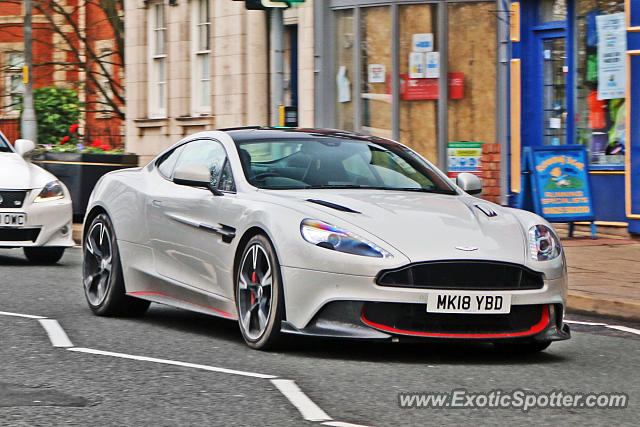 Aston Martin Vanquish spotted in Alderley Edge, United Kingdom