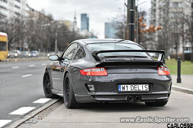 Porsche 911 GT3 spotted in Warsaw, Poland