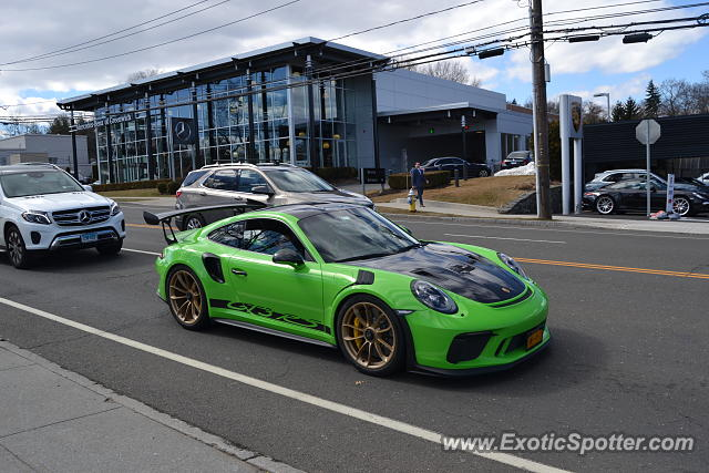 Porsche 911 GT3 spotted in Greenwich, Connecticut