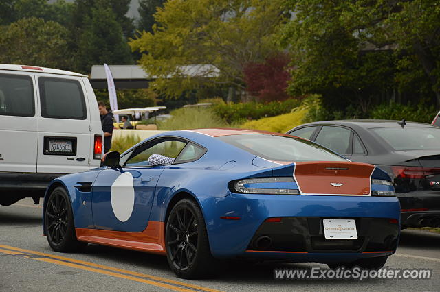 Aston Martin Vantage spotted in Carmel, California