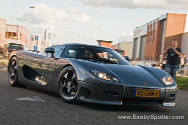 Koenigsegg CC8S spotted in Holland, Netherlands