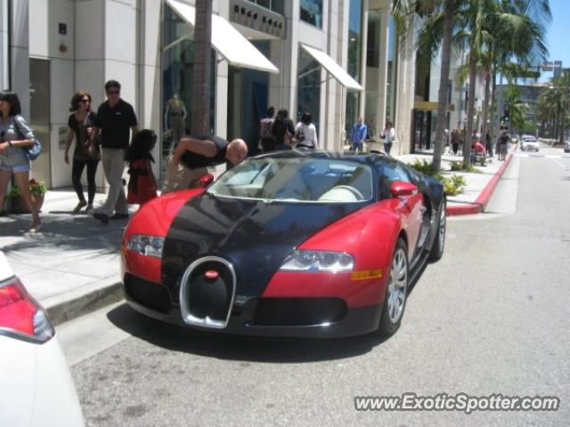 Bugatti Veyron Spotted In Beverly Hills California On 07