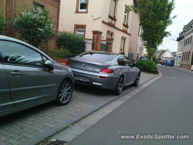 bmw m6 spotted in mainz germany on 07 13 2010. Black Bedroom Furniture Sets. Home Design Ideas