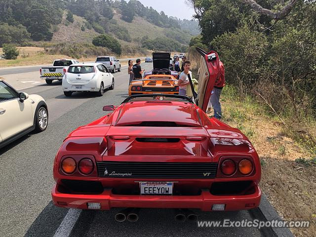 Lamborghini Diablo spotted in Carmel Valley, California