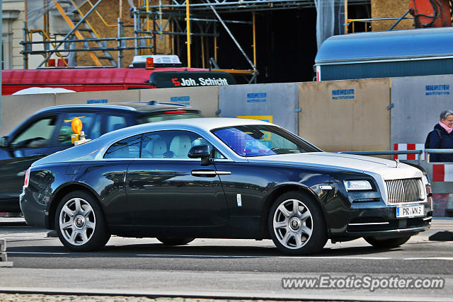 Rolls-Royce Wraith spotted in Berlin, Germany