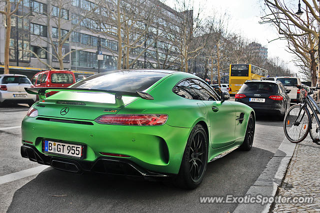 Mercedes AMG GT spotted in Berlin, Germany
