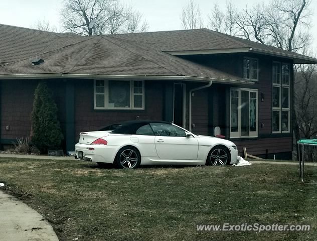 BMW M6 spotted in Shakopee, Minnesota