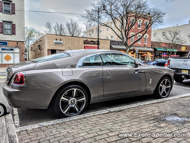 Rolls-Royce Wraith spotted in Somerville, New Jersey