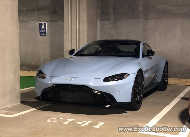 Aston Martin Vantage spotted in Sandy Springs, Georgia
