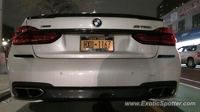 BMW Alpina B7 spotted in Queens, New York