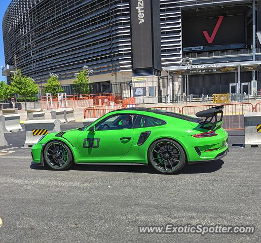 Porsche 911 GT3 spotted in East Rutherford, New Jersey