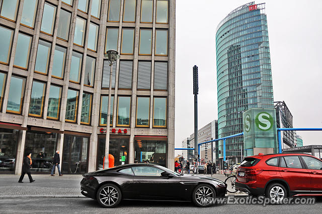 Aston Martin DB11 spotted in Berlin, Germany