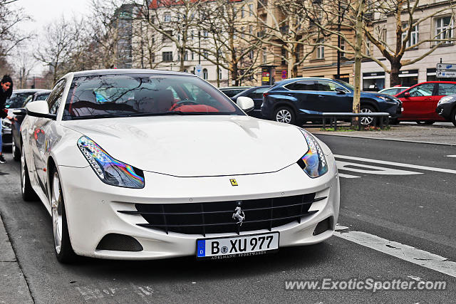Ferrari FF spotted in Berlin, Germany