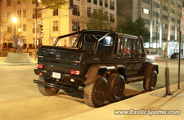 Mercedes 6x6 spotted in Montreal, Canada
