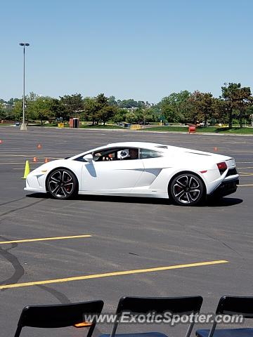 Lamborghini Gallardo spotted in East Rutherford, New Jersey